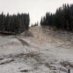A nins pe Buscat, la Muntele Băișorii!