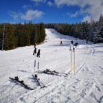 De azi se schiază la Mărișel și pe pârtia albastră și pe pârtia roșie!