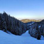 Iarnă la Băișoara: aici e cel mai mare strat de zăpadă din țară