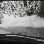 Video. Drumul dintre Răchițele și Dealu Botii, acoperit de zăpadă!
